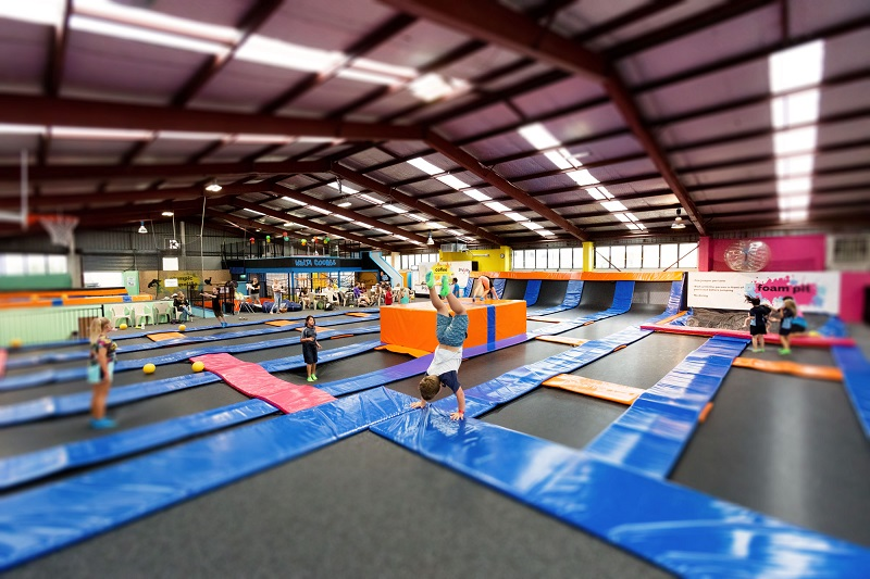 Trampoline Parks Provide a Great Venue for a Date